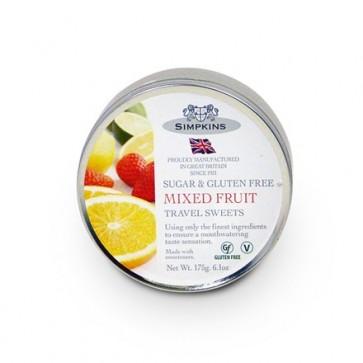 Simpkins Travel Sweets - Mixed Fruit Drops 175g