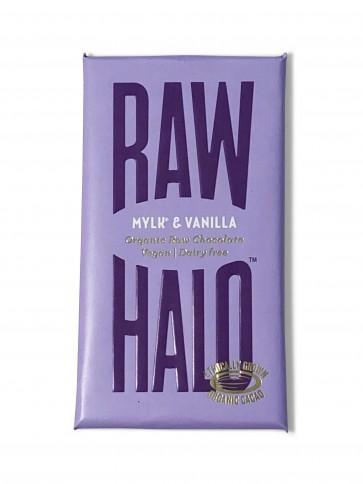 Raw Halo Mylk & Vanilla Chocolate Bar 35g