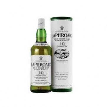 Laphroaig 10yr old single malt 700ml bottle