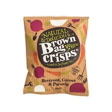 Natural Veggie Crisps 40g