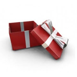 Medium Red Gift Box (Up to 20 items)