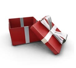 Large Red Gift Box (Up to 30 items)