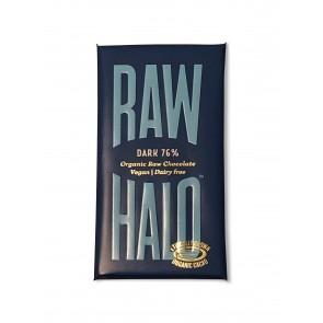 Raw Halo Pure Dark 76% Chocolate Bar 35g