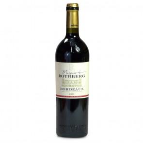 Marquis du Rothburg (French Bordeaux) 750ml bottle